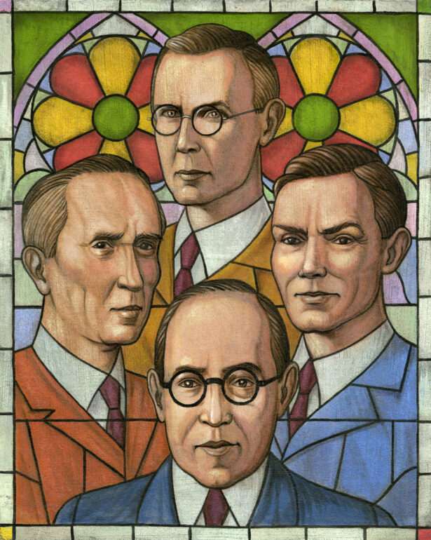 Owen Barfield, C.S. Lewis, J.R.R. Tolkien, and Charles Williams
