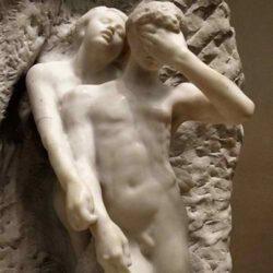 Orpheus & Eurydice by Rodin - 1893