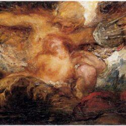 Orpheus & Eurydice by Violet Brunton - c.1910