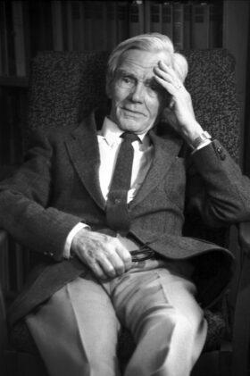 Owen Barfield, 1985 – photo by grandson Owen A. Barfield