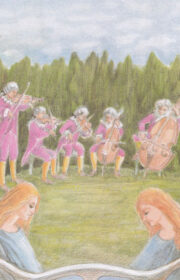 3rd ed., Violet & Gamboy - before