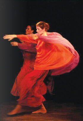 Dancers performing Eurythmy