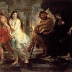 Orpheus & Eurydice by P.P. Rubens - 1635