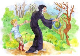 The Child and the Giant by Owen Barfield, illustration by Nicoleta Bida-Şurubaru