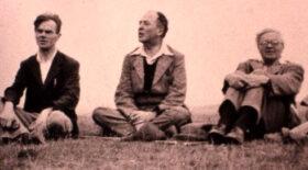 Owen Barfield, C.S. Lewis, A. C. Harwood, c.1940
