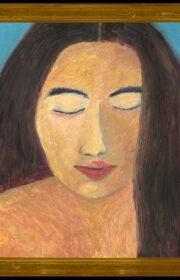 18 - Portrait - 50 x 50 cm - 1995