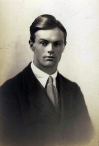 A. Owen Barfield, 1923