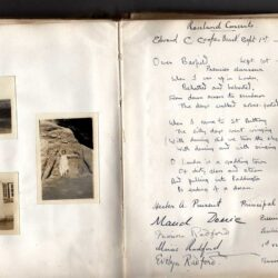 1920 - Barfield verse in log-book