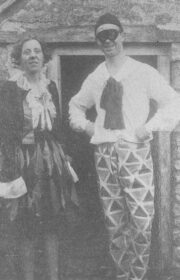 1920 - Maud & Owen in costume