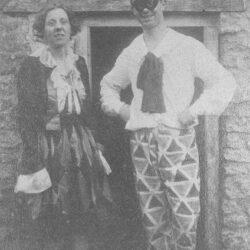 1920 - Maud & Owen in costume