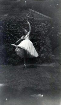 Lucy Barfield, dancer c. 1953