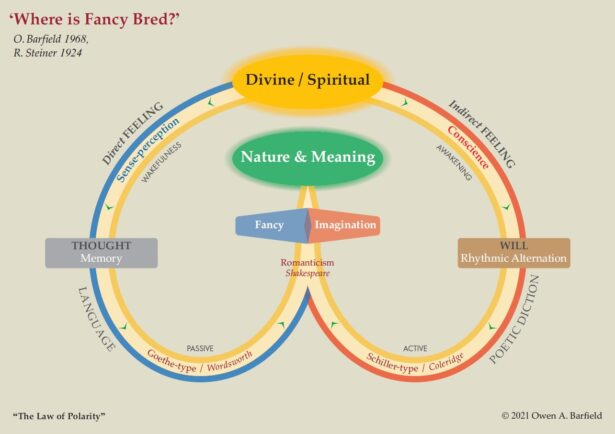 Where is Fancy Bred? Diagram for Owen Barfield's The Rediscovery of Meaning