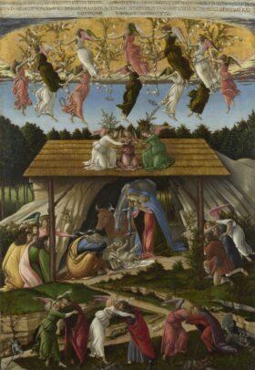 'Nativity of Jesus' by Sandro Botticelli, 1500.